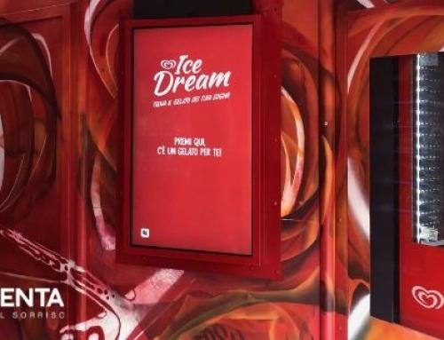 Ice Dream Algida: la prima vending machine di gelati interattiva a Milano